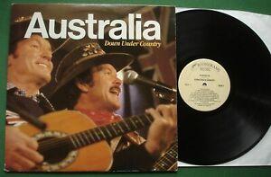 Australia Down Under Country inc Waltzing Matilda / Pub With No Beer + ALR1 LP