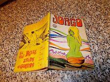 JORGO N.3 EDIGRAFITAL 1969 M.BUONO TIPO NERI DIABOLIK SATANIK KRIMINAL GENIUS