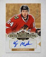 2016-17 Fleer Showcase #171 Tyler Motte RC Auto /499 - NM-MT