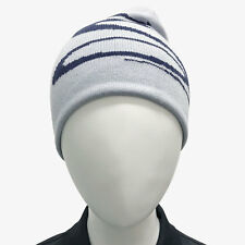 COBRA Unisex Wendemütze, reversible Beanie, One Size, weiches Material, peacoat
