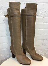 Chloe Light Beige Womens Boots 38.5EUR 7.5US 5.5UK