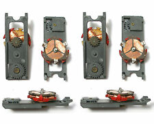 4pc Aurora AFX Magnatraction HO Slot Car RED ARMATURE PLATE Used Salvage Nice