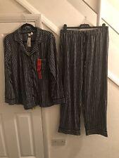 dkny pyjamas Blue& White Stripe Size Medium