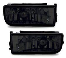 Set BMW E36 Nebelscheinwerfer Schwarz Smoke Rauchglas Paar alle Modelle 91-99