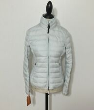 NWT Women's PARAJUMPERS Geena Short Down Coat, Small, Illusion Blue