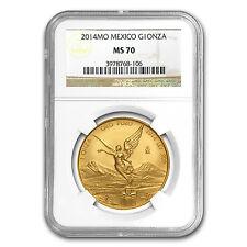 2014 Mexico 1 oz Gold Libertad MS-70 NGC - SKU #87209