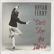 "Bryan FERRY Vinyl 45T 7"" DON'T STOP THE DANCE -NOCTURNE -POLYDOR 883174 F Rèduit"