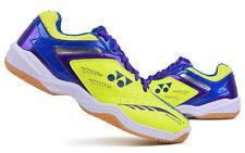 Yonex Unisex Badminton Shoes Power Cushion 35 Racket Yellow Blue SHB-34EX NWT