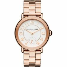 Marc Jacobs Women's Riley Rose Gold-Tone Chronograph Watch 36mm MJ3471 NEW!