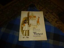 Vintage 1969 Whirlpool Dryers The Basic Dryer Book Guide Paper Booklet Collector