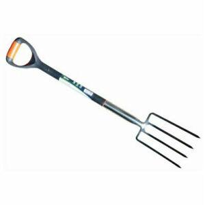 Stainless Steel Digging Border Fork & Spade Heavy Duty Garden Tools Lightweight