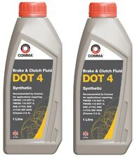 Comma Dot4 Synthetic Brake Fluid Com-bf41l-2 - 2x1l 2 Litre