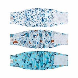 CuteBone Dog Belly Bands for Male Dogs Wraps Washable Doggie Diapers