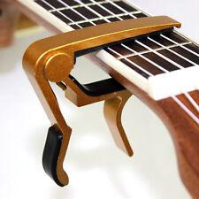 Cejilla Tono Cambio Rápido Guitarra Acústica Eléctrica Clásica Sujetador Cabeza