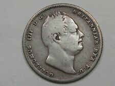 1834 Great Britain Six Pence. William IIII. KM-712.  #2