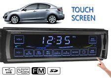 Touch Screen Car Stereo Radio MP3 Audio Player USB/SD/FM 1 din Head Unit in dash