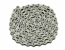 "Bicycle Chain 1/2"" x 1/8 x 112 Links White/Chrome BMX Cruiser Lowrider Bikes"