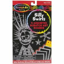 Scratch Magic Art Board Set-Silly Swirls by Melissa & Doug
