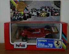 Ferrari 312 T4 1979 Jody SHECKTER N 11 F1 Formule 1 POLISTIL ech: 1/43