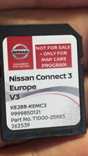 Nissan 2018 CONNECT3 Navigation Sat Nav Europe V3 SD Card