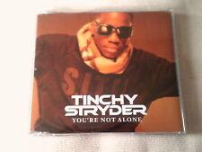 TINCHY STRYDER - YOU'RE NOT ALONE - 4 TRACK UK CD SINGLE
