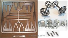"5"" g. Wagon Underframe Kit - inc. 8 Spoke Wheels, Axle Boxes & Springs"