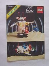 LEGO Bau- & Konstruktionsspielzeug LEGO Bausteine & Bauzubehör Anleitung nur Lego Sonic Roboter 6750 Klassisch Weltall Manuell Buch Set
