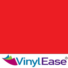 One 12 in x 40 ft Roll Glossy Red Permanent Craft and Sign Vinyl V0443