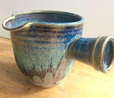 Stoneware Art Studio Pattery Creamer Side-Pour Boat Pitcher Pourer Ceramic