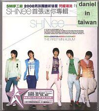 SHINee: The first Mini Album - Replay (2008) Korea / CD & 40p BOOKLET TAIWAN