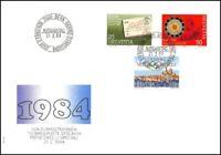 FDC Suisse - Timbres poste spéciaux  21.2.1984