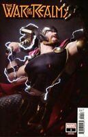 War of the Realms #1 Incentive Victor Hugo Var Thor Marvel comic 1st Print NM