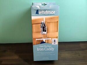 Whitmor Wire Over The Door Ironing Caddy Iron & Ironing Board Storage Organizer