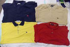 WHOLESALE JOB LOT Grade A x 10 Hommes (burberry, REEBOK) à manches longues Polo Shirts