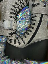 Wut? 😮💀sickening CRYSTAL TRAITOR BOOTS SIZE 10 IN HAND! Ships Today!