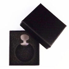 1pc Black Gift Box For Watch Jewelry Pocket Watch Display Case Necklace Chain