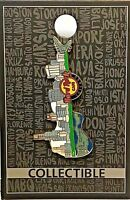 Hard Rock Cafe Chicago Pin City Scape Guitar Skyline HRC LE NEW