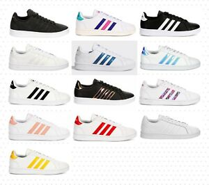 Adidas Essentials Grand Court Women's Shoes Sneakers Comfort Casual Fashion NIB