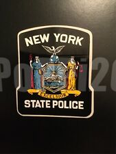 NY NYSP New York State Police (Outside) *Authentic Sticker Decal