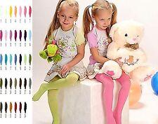 Weiche blickdichte Kinder Mädchen Baby Strumpfhose alle Größen Farben 67-158