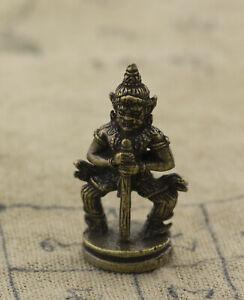 Thao Wessuwan  Amulette thaï -Talisman Protège des Esprits malveillants A60 1662