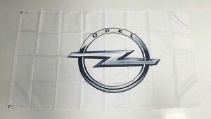 Opel Banner Flag - Car Racing Motors Performance Mechanic Workshop Man Cave