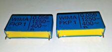 2Pcs New Genuine Wima Fkp1 0.056Uf 56nF 1250V 5% Hi_End Film Foil Audio Caps!