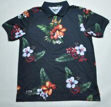 LRG Floral Polo Size XL