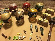 Mega Bloks Pirates of the Caribbean Pyrates Big Lot 6 Set/Figures Pirate Mix