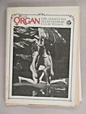 The Organ Magazine #1 -July,1970 Hippie,Underground,Allen Ginsberg,S Clay Wilson