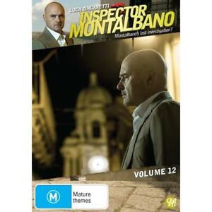 Inspector Montalbano - Volume 12. (Dvd,2021) *NEW* Region 4