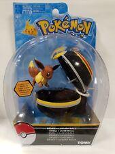 TOMY Pokemon Eevee + Luxury Ball  Figure New Rare