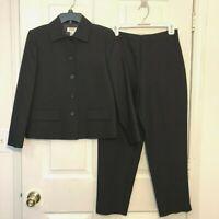Talbot's Women's Pantsuit - Size 4P - Black Diamond Pattern - New with Tags!