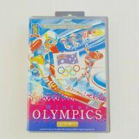 Winter Olympics | Sega Mega Drive | With Manual | Exrental | Tracked Postage